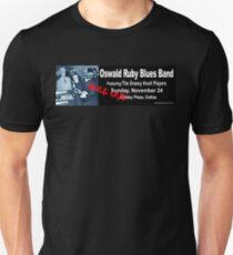 Oswald Ruby Blues Band Slim Fit T-Shirt