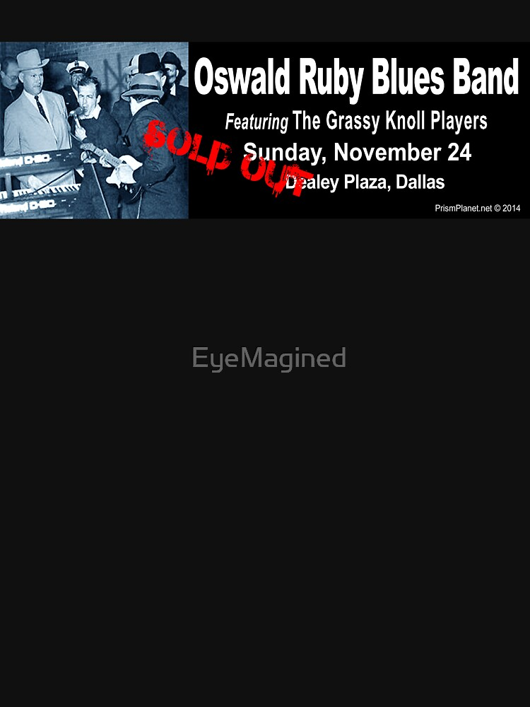 Oswald Ruby Blues Band by EyeMagined