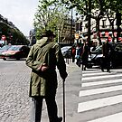 Look Right - Paris France by Norman Repacholi