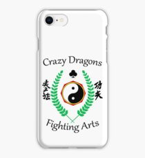 Crazy Dragons Fighting Arts iPhone Case/Skin
