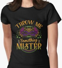 Mardi Gras Parade Women's Fitted T-Shirt
