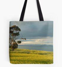 Golden Fields, Bellarine Peninsula Tote Bag