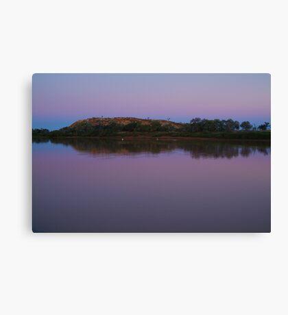 Dusk, Hunters Gorge, Diaminatina River Outback Queensland Canvas Print