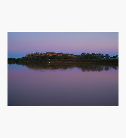 Dusk, Hunters Gorge, Diaminatina River Outback Queensland Photographic Print