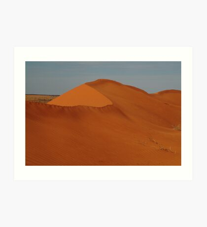 Sandhill North Simpson Desert,N.T. Art Print