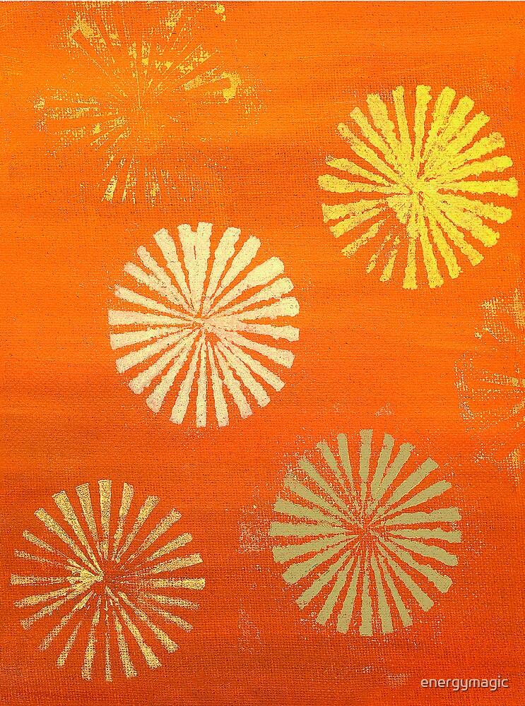 Orange Flowers by energymagic