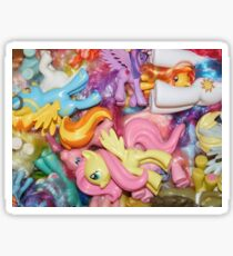 LOTS of ponies Sticker