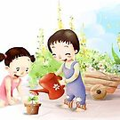 I Love Growing! by Dilson