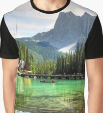 An Island in Serenity Graphic T-Shirt