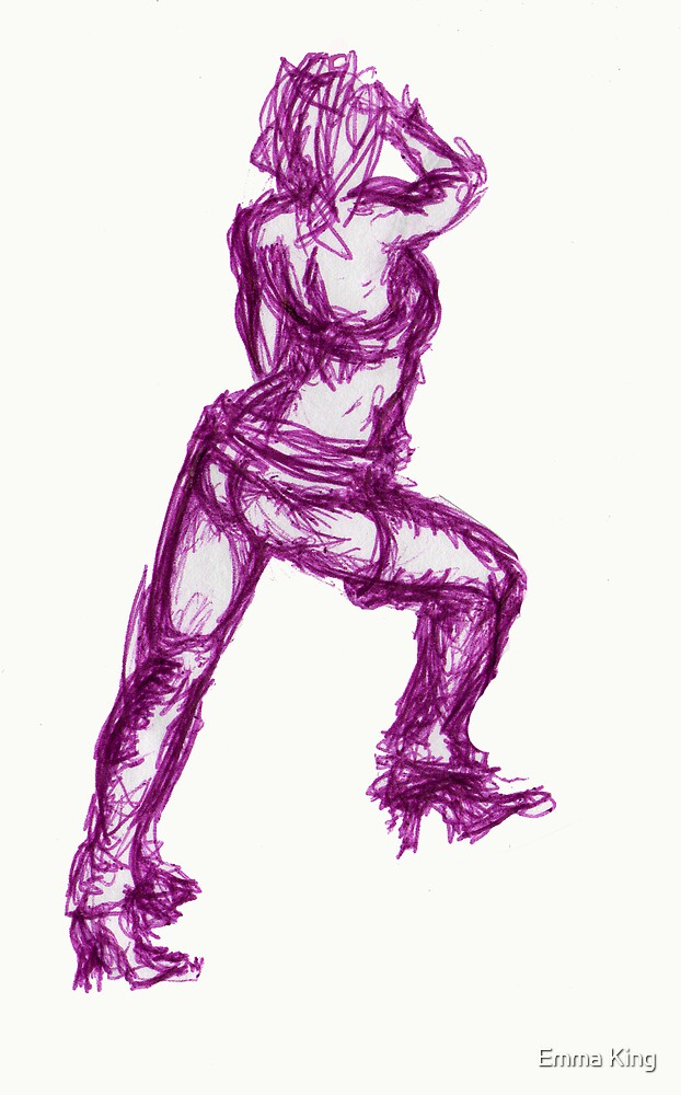 Figure Drawing #1 by Emma King