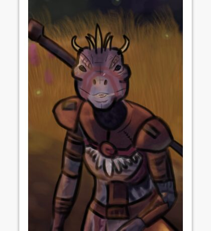 argonian Sticker
