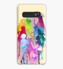 Sailor Moon Crystal Aquarell Palette Hülle & Klebefolie für Samsung Galaxy