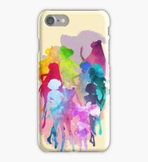 Sailor Moon Crystal Watercolor Palette  iPhone Case/Skin