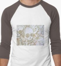skull in the ocean sketch T-Shirt