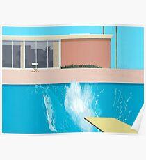 """David Hockney """"A Bigger Splash"""" Poster"""