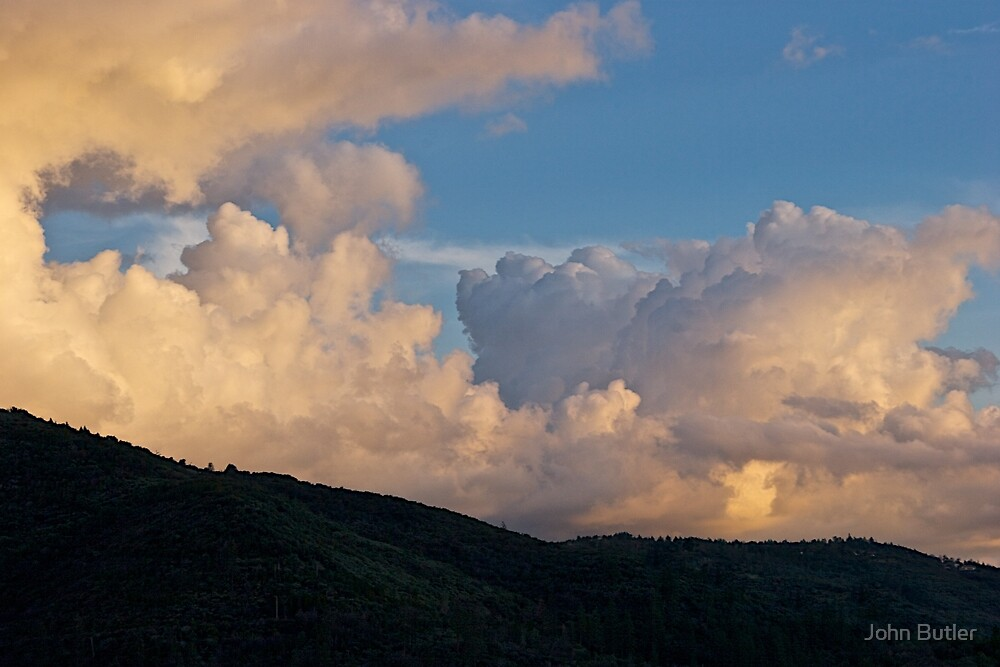 Storm Clouds at Sunset by John Butler