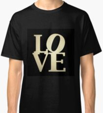 Love Park Philadelphia Sign Classic T-Shirt