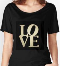 Love Park Philadelphia Sign Women's Relaxed Fit T-Shirt