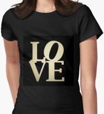 Love Park Philadelphia Sign Women's Fitted T-Shirt