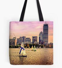 Sails, Boston, MA, USA Tote Bag