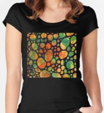 Abstract Color Square 2 Women's Fitted Scoop T-Shirt
