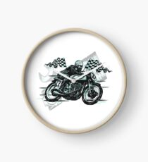 Cafe Racer Clock