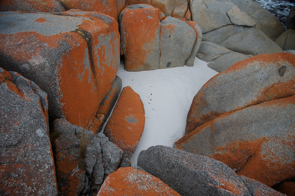 Rocks and Sand by Mark Williamson