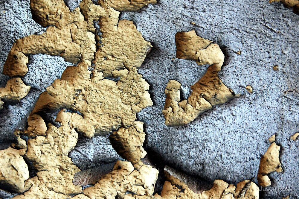 peeling paint by Jason Ross