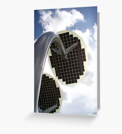 Solar Petals Greeting Card