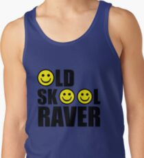 oldskool, raver, smiley, rave Men's Tank Top