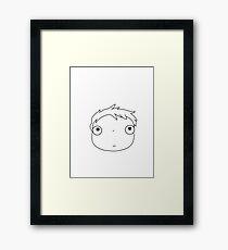 little ponyo Framed Print