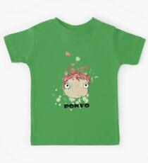 Little Ponyo ink Kids Tee
