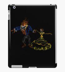 Beauty Dances With Her Beast iPad Case/Skin