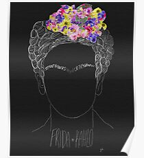 Frida Kahlo Quote Poster