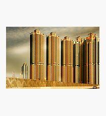 Hong Kong Skyscrapers Photographic Print
