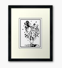 Where is my mind? Framed Print