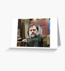 Trashcan of Ideology Greeting Card