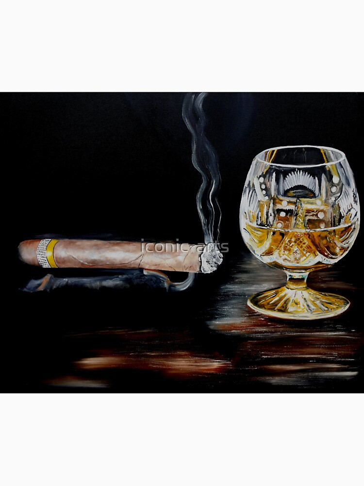 Cigar & Brandy by iconic-arts