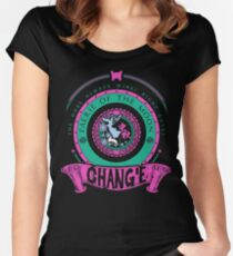 CHANG'E - FAERIE OF THE MOON Women's Fitted Scoop T-Shirt