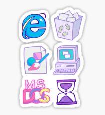 w i n d o w s 9 5 Sticker
