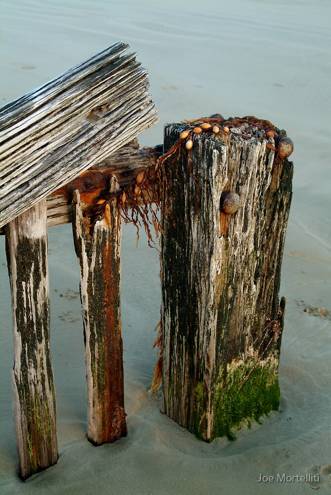 Breakwater Raaf's Beach,Bellarine Peninsula by Joe Mortelliti