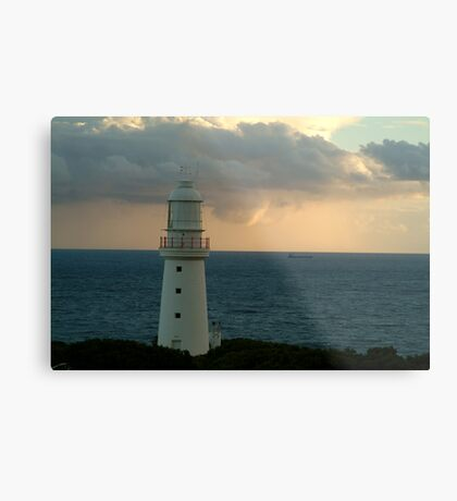 Lonely Ship Metal Print