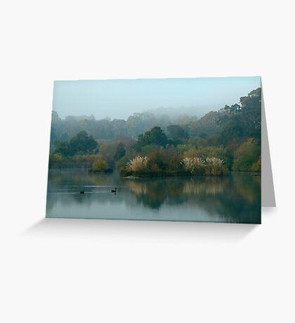 Morning, Lake Daylesford Greeting Card