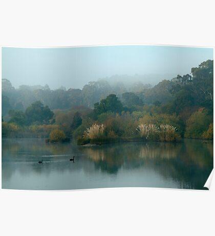 Morning, Lake Daylesford Poster