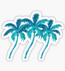 Drei Kokospalmen Sticker