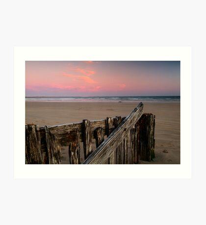 Twilight, Raaf's Beach,Bellarine Peninsula Art Print