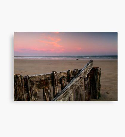 Twilight, Raaf's Beach,Bellarine Peninsula Canvas Print