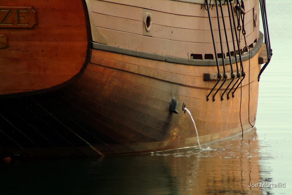 Hull,Tall Ship by Joe Mortelliti
