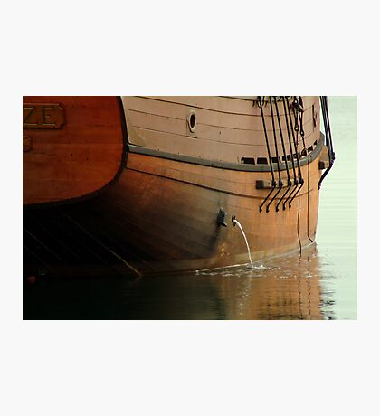 Hull,Tall Ship Photographic Print