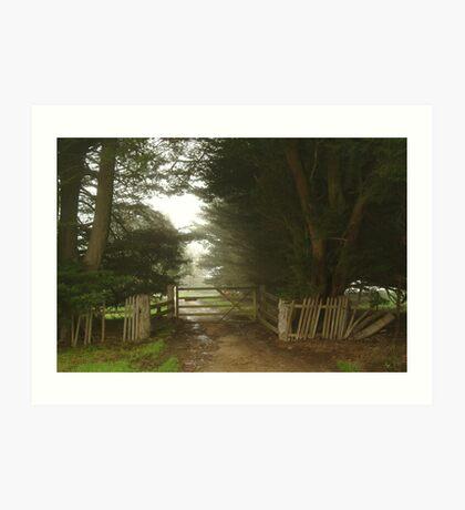Farm Entrance Art Print